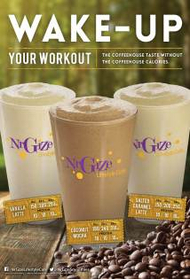 NrGize Coffee Smoothies – Poster
